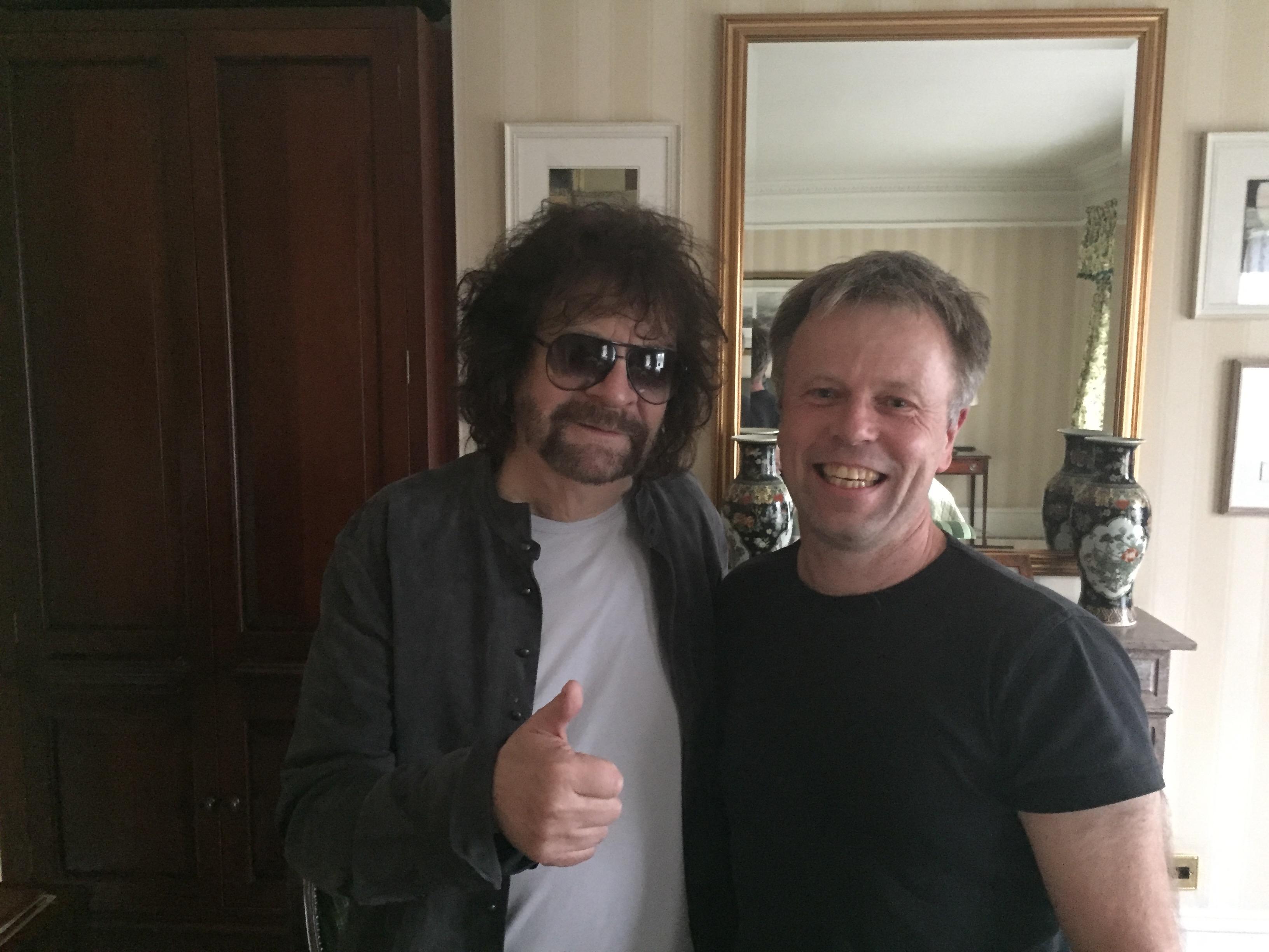 Jeff Lynne and Michael