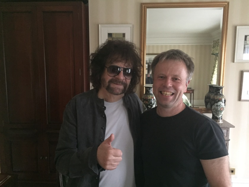 Jeff Lynne and Michael